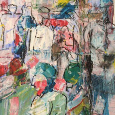 sylvie banning schilderij kunst